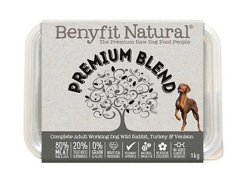 Benyfit Natural Working Dog Premium Blend 1kg