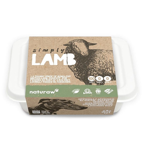 Naturaw Simply Lamb 500g