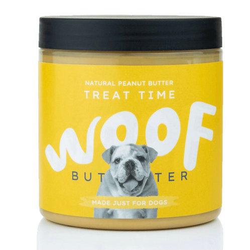 Woof Butter Treat Time: Natural Peanut Butter