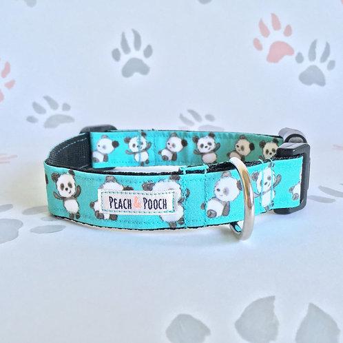 Tumble Panda Dog Collar
