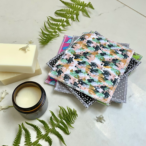Abstract Reusable Wipes