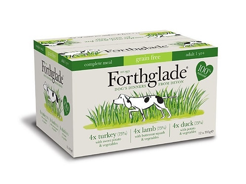Forthglade Turkey, Lamb and Duck Multipack