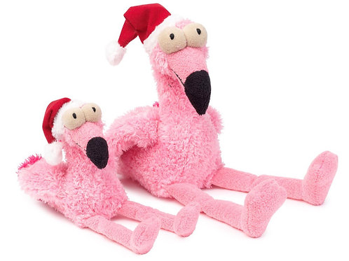 Fuzzyard Christmas Flo the Flamingo