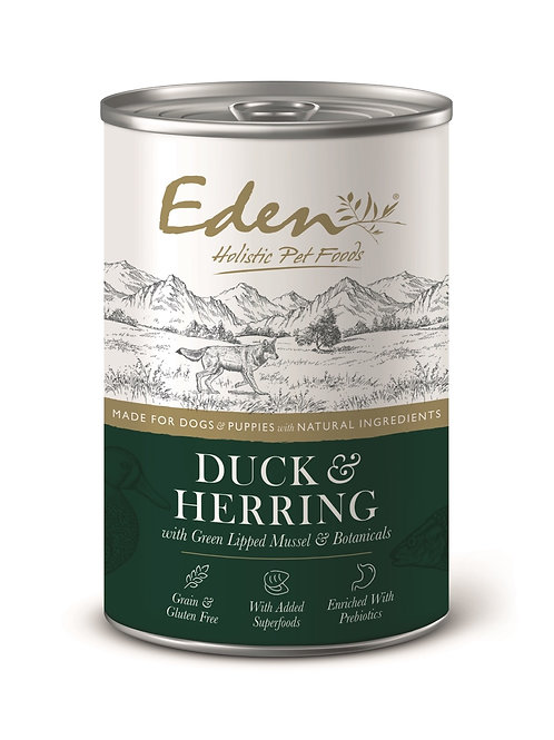 EDEN GOURMET DUCK AND HERRING
