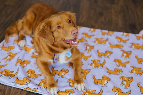 Limited Edition Lilac Toller Blanket