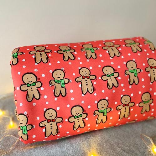 Gingerbread Men Christmas Blankets