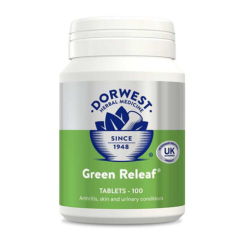 Green Releaf Tablets For Dogs & Cats