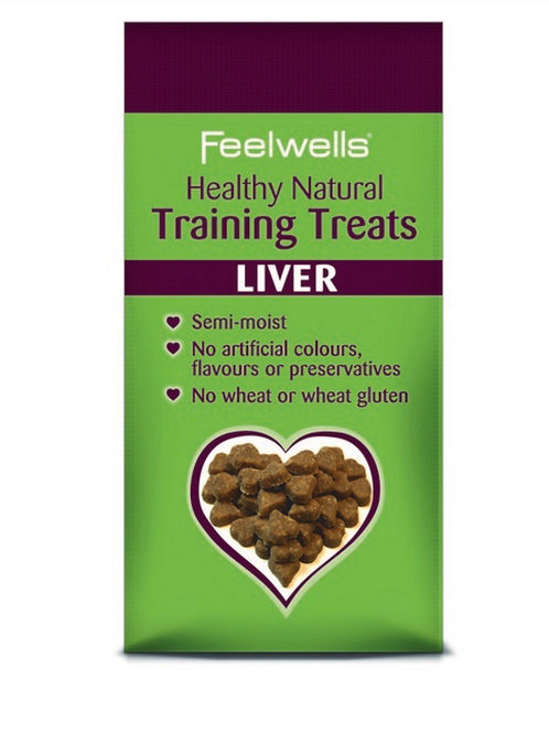 Feelwells Grain Free Liver Training Treats