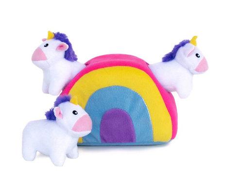 Zippypaws Unicorns In Rainbow Burrows