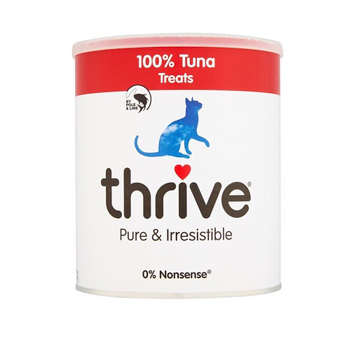 Thrive Cat Treats 100% Tuna 180g