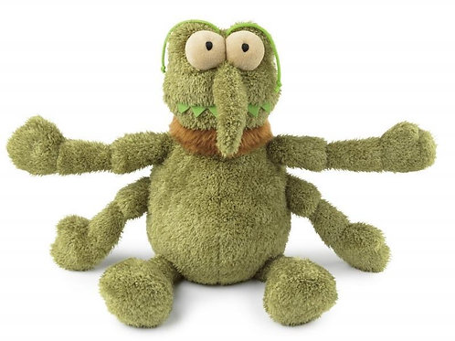 Scratchy the Flea Plush Dog Toy