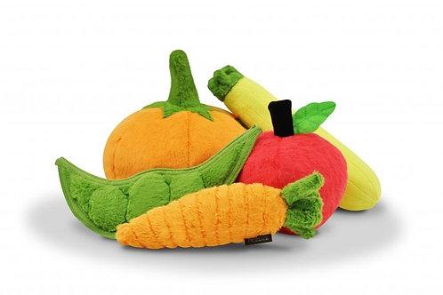 Carrot Dog Plush Toy