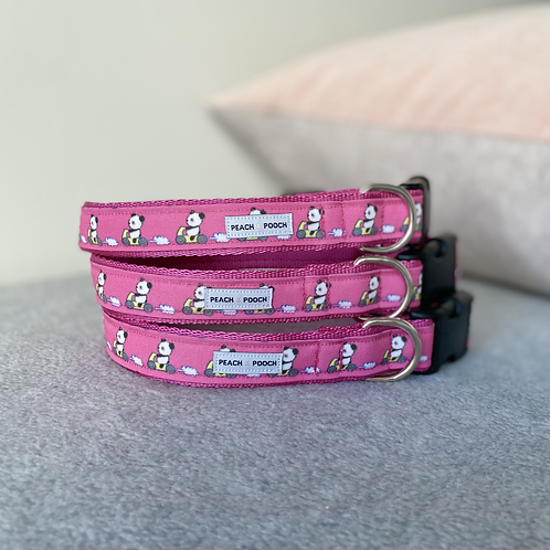 Scoot Scoot Panda Dog Collar
