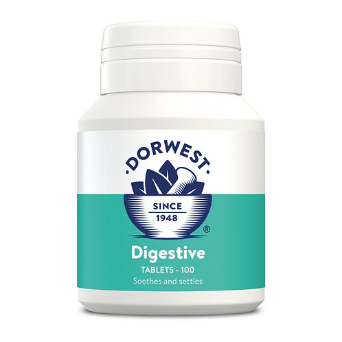 Dorwest Digestive Tablets for Dogs and Cats 100 tablets