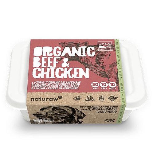 Naturaw Organic Beef & Chicken 500g