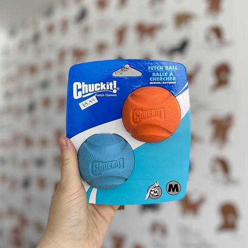 Chuckit Fetch Ball 2 pack (Medium)