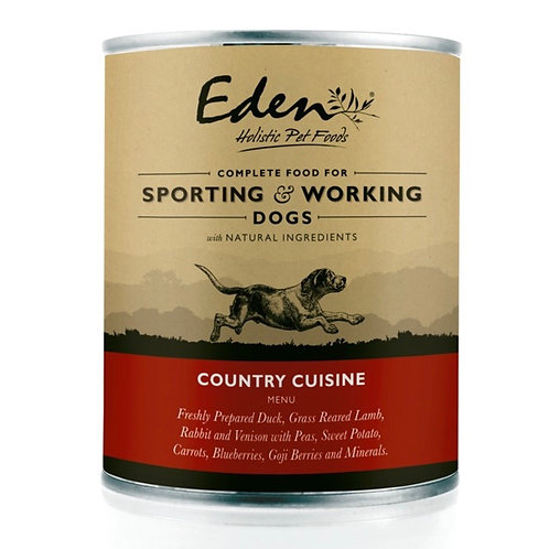 Eden Wet Dog Food Country Cuisine