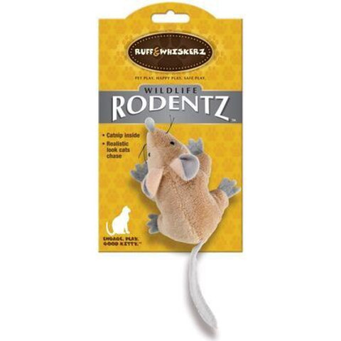 Ruff & Whiskerz Mouse Toy (with catnip)