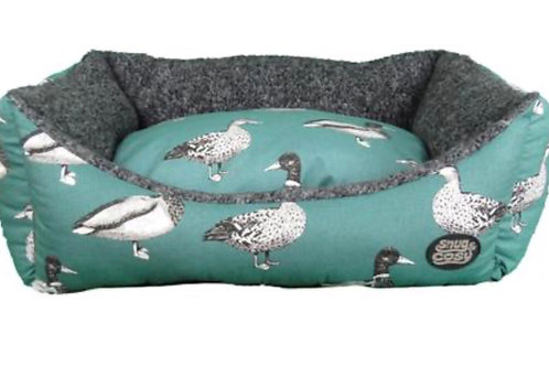 Snug & Cosy Teal Duck Bed