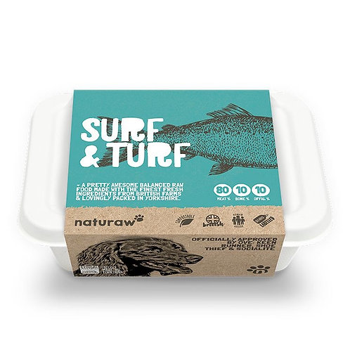 Naturaw Surf & Turf 500g