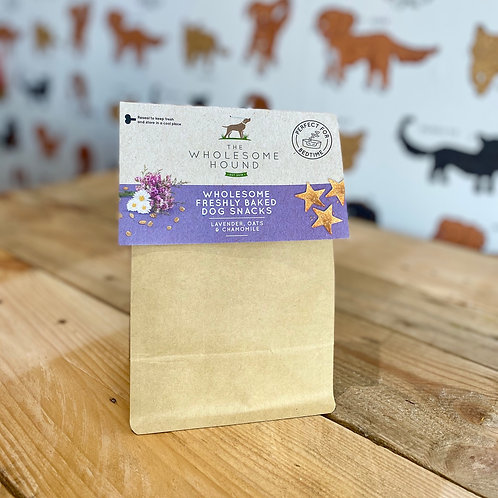 The Wholesome Hound Lavender, Oats & Chamomile Treats