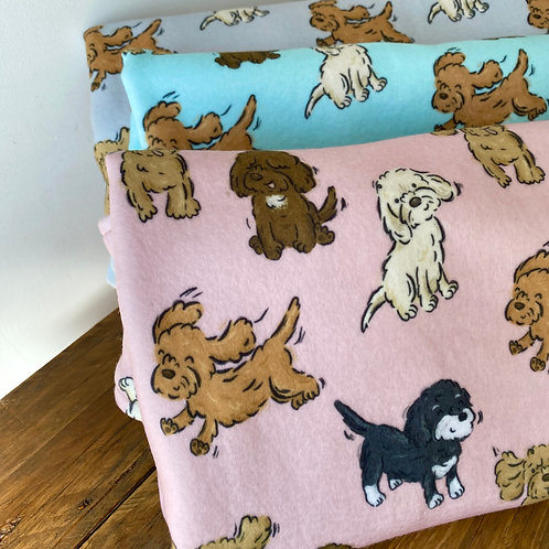 Poos and Doodles Blanket - ft. Cockapoo, Cavapoo and Labradoodle