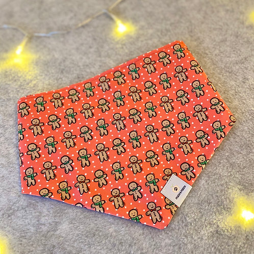 Gingerbread Men Pet Bandana