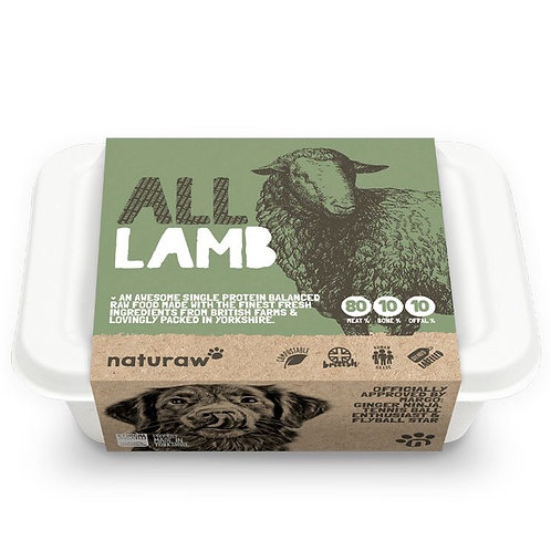 Naturaw All Lamb 500g
