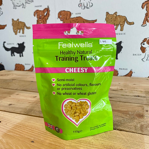 Feelwells Grain Free Cheesy Training Treats