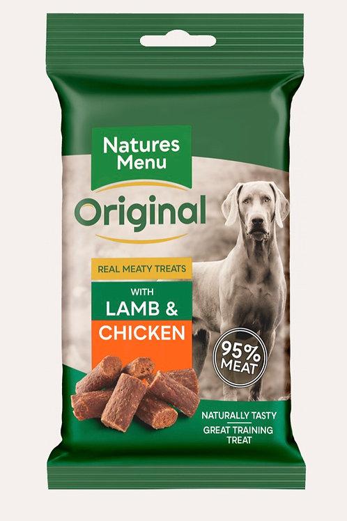 Natures Menu Dog Treats Lamb & Chicken