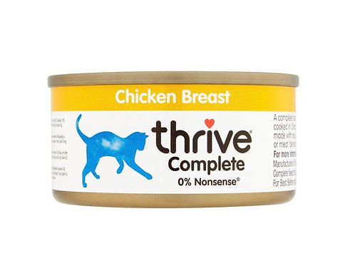 Thrive Cat Complete Adult Chicken Breast 75g