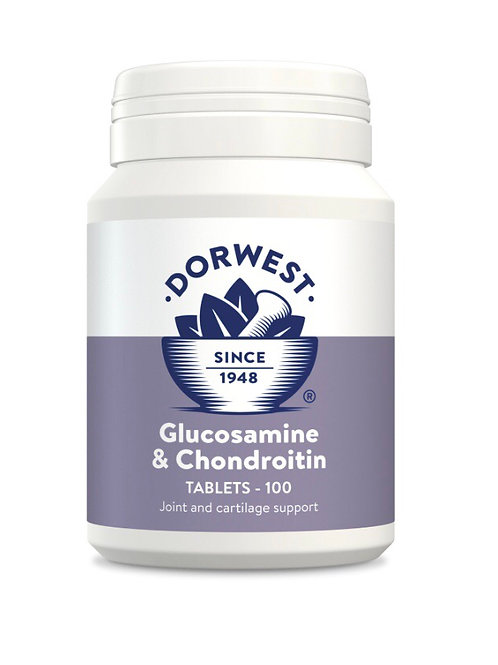 Dorwest Glucosamine & Chondroitin Tablets for Dogs and Cats