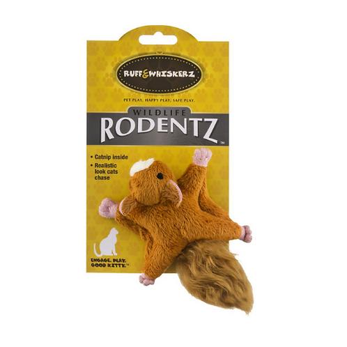 Ruff & Whiskerz Squirrel Toy (with catnip)