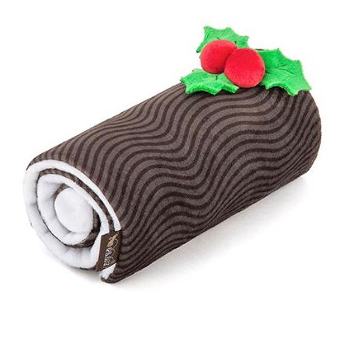 P.L.A.Y Christmas Yule Log Dog Toy