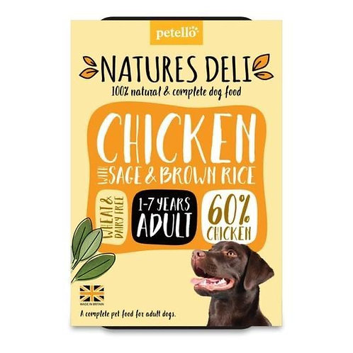 Nature's Deli Chicken, Sage and Brown Rice