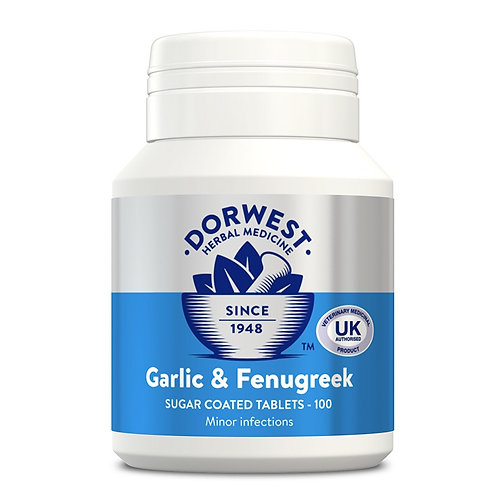Garlic & Fenugreek Tablets For Cats & Dogs