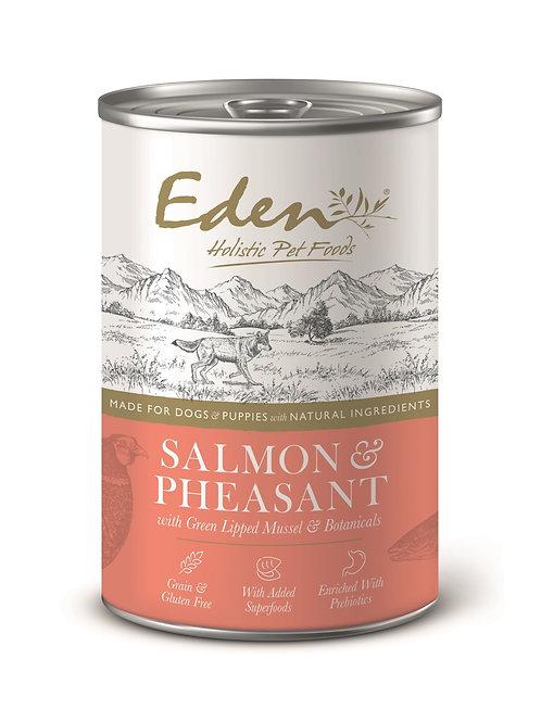 EDEN GOURMET SALMON AND PHEASANT