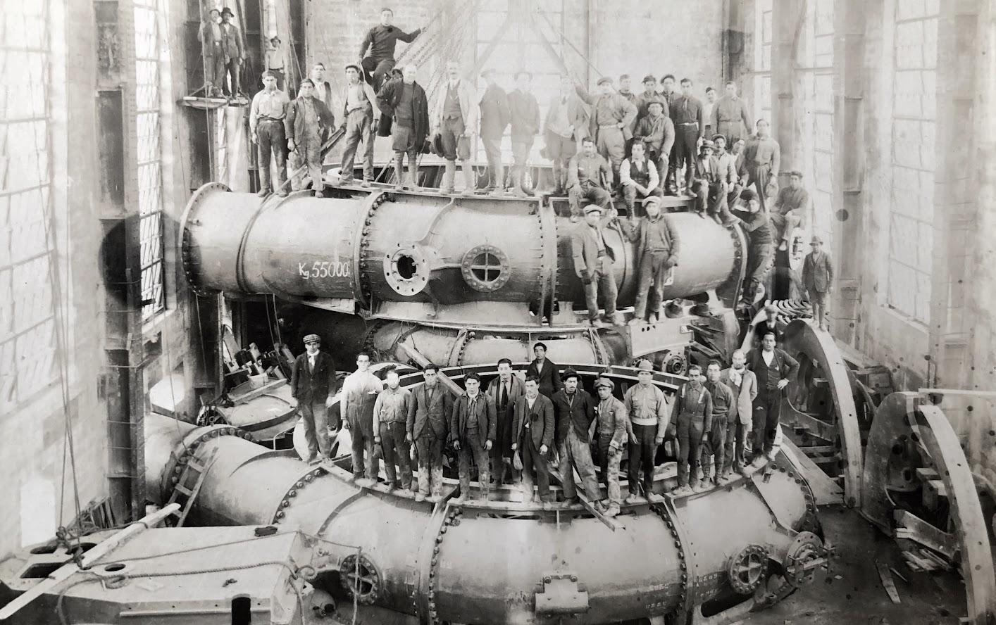 Turbines Installation