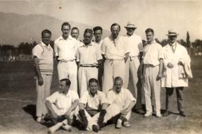 William Barttelot social life in Santiago 1926-1928