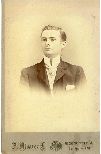 Photo of John N. Hart's grandfather, John Hart, believed to have been taken at age 21.