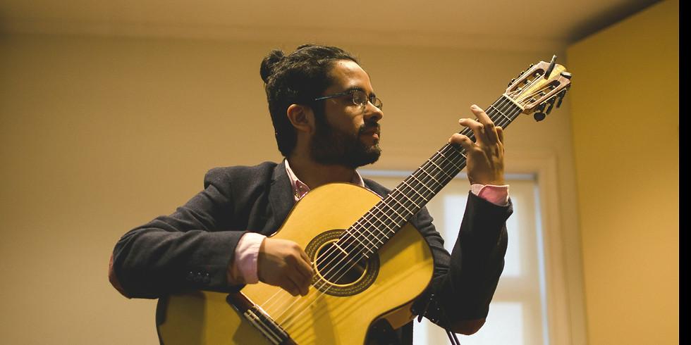 Chilean Music Concert 'Puro Chile' by Carlos Cid, classical guitarist