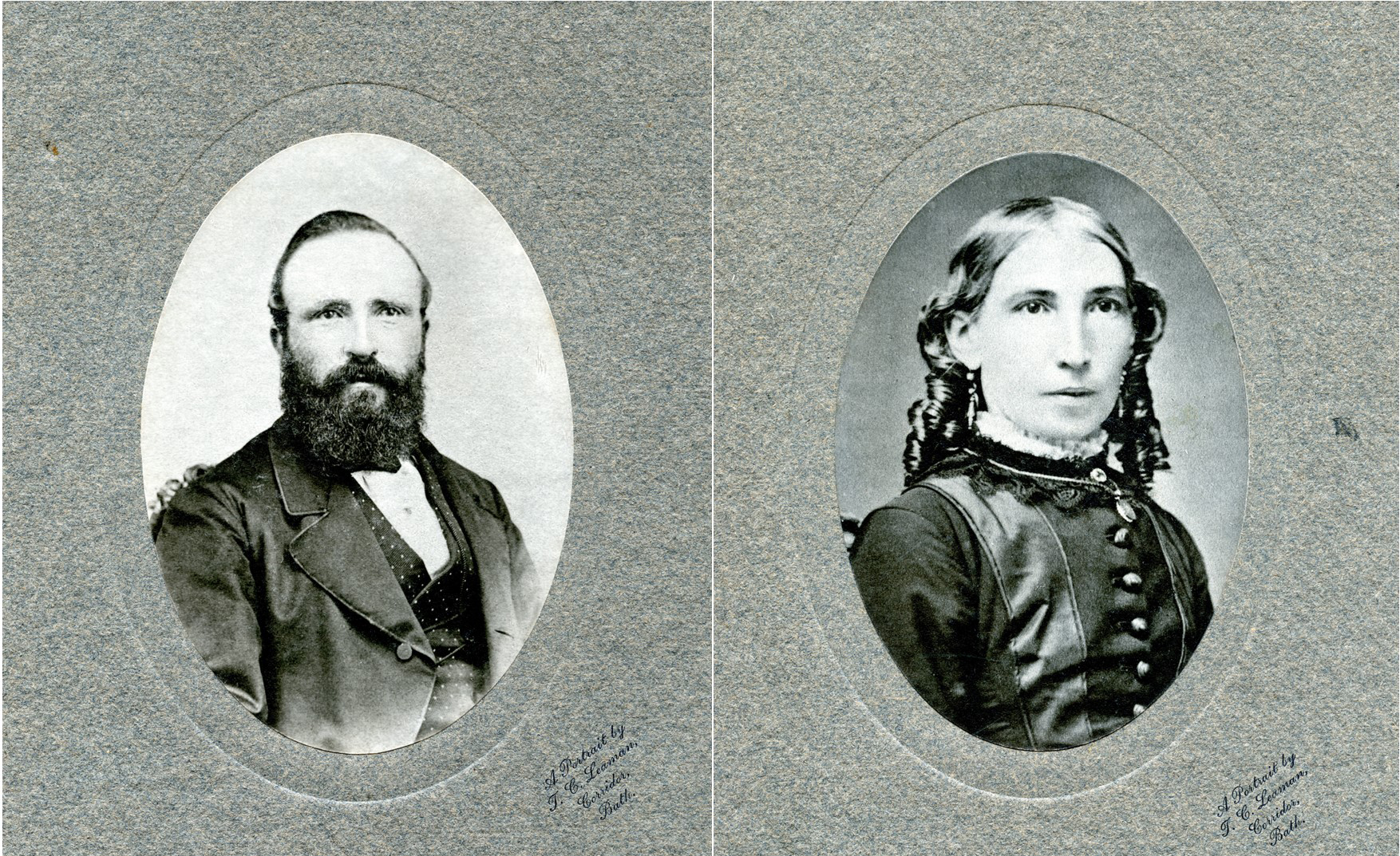The final pictures are of Robert Jeffery, the Vice Consul and his wife Fanny