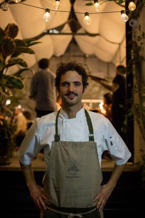 Matias Aretaga Cocinero event