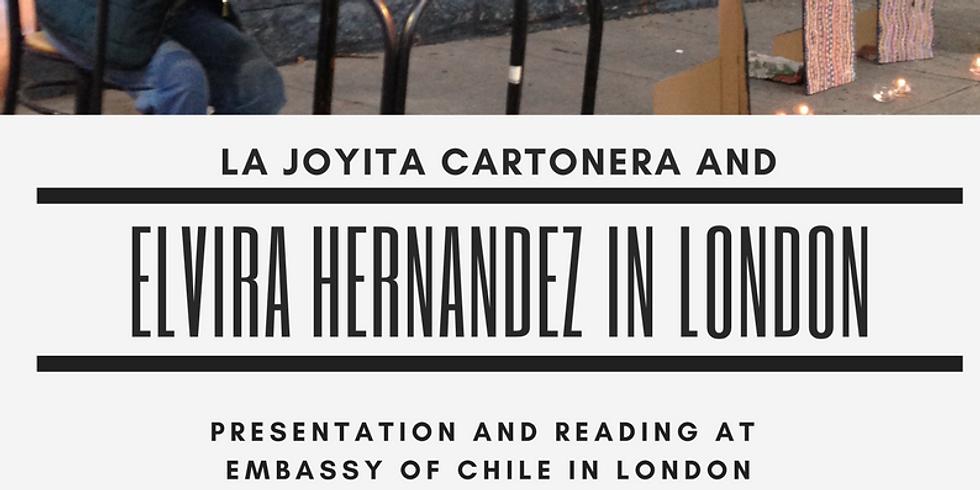 Poetry Reading by Elvira Hernandez