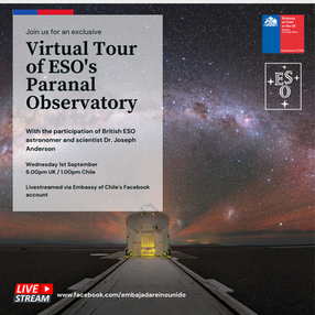 Virtual tour of the ESO'S Paranal Observatory