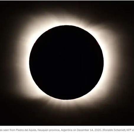Year's only total solar eclipse sweeps across Chile, Argentina today