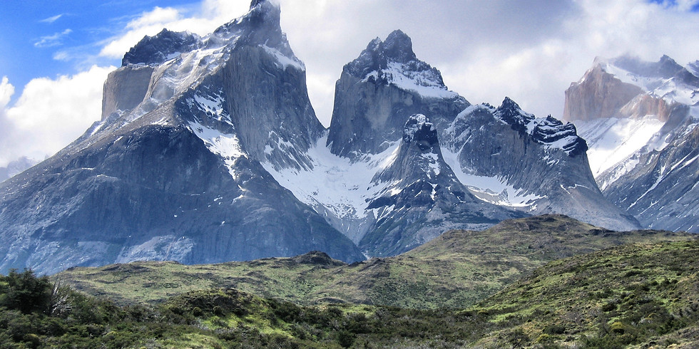 The ascent of the central tower of Torres del Paine by Sir Chris Bonington private viewing of paintings by Colin Taylor
