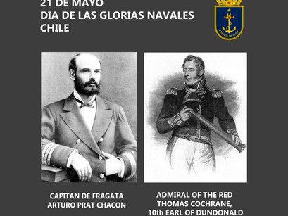 21st of May, 'The Day of Naval Glories' in Chile