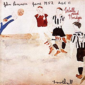 John Lennon's album cover 'Walls and Bridges'