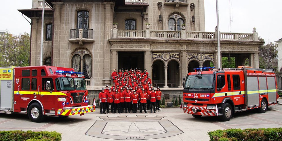 60th anniversary of the British and Commonwealth Fire & Rescue Company (Santiago, Chile)